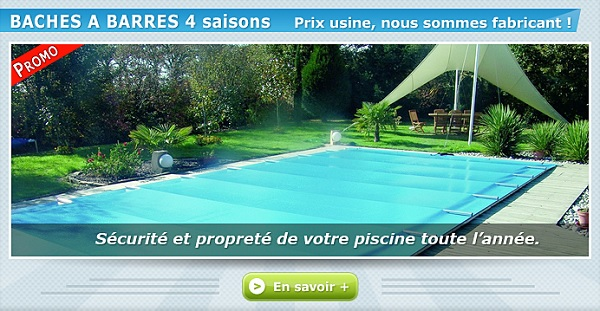 bache protection piscine
