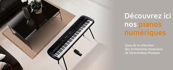 piano numérique P45 B
