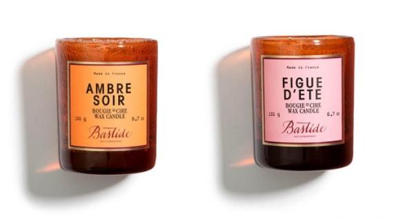 bougies parfumées de luxe