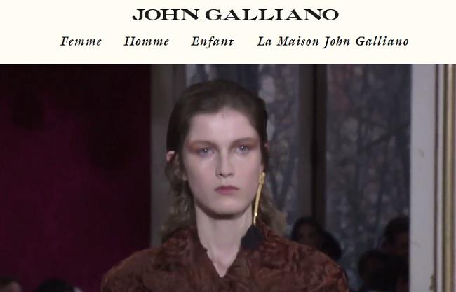 maroquinerie femme john galliano