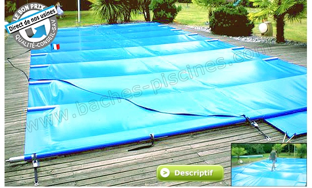 bache solaire piscine