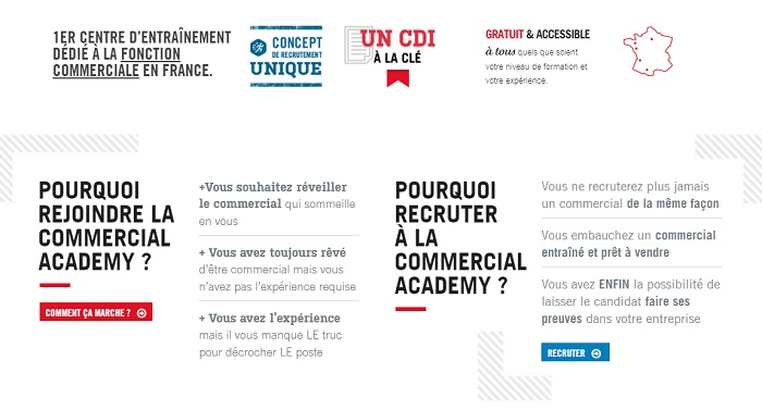 recrutement commercial Paris