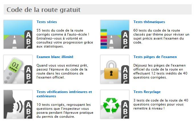 revision code de la route