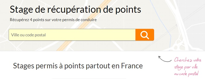 récupération de points Bordeaux