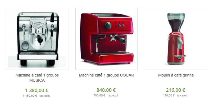 machine à café professionel pas cher