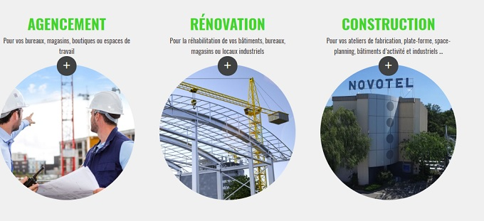 aménagement bâtiments industriels